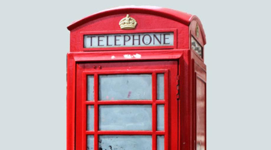Tanja Schael, Kontakt zur Praxis, Telefonzelle in Rot als Symbol